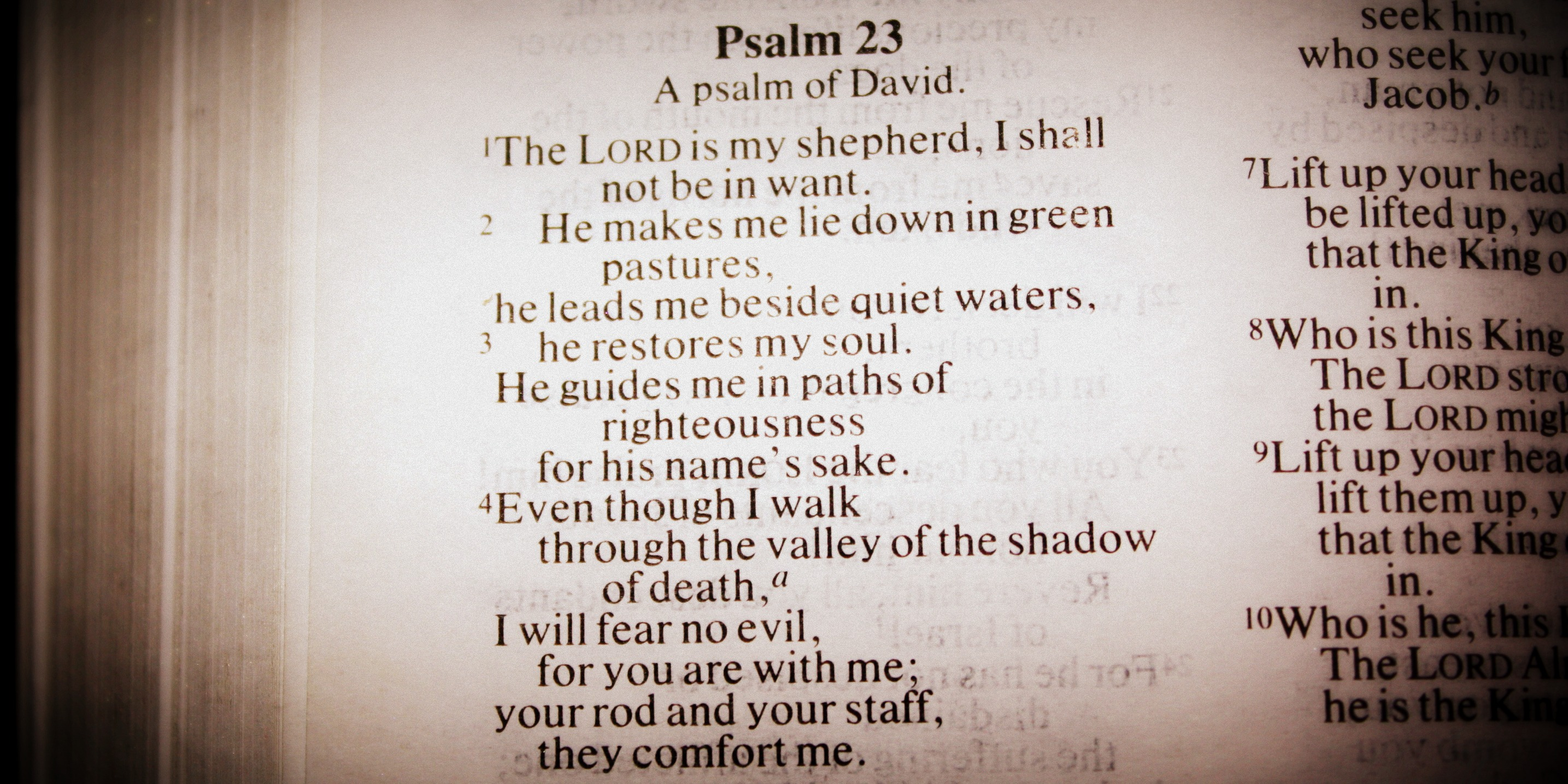 psalms 23 Please indicate which email(s) you would like to receive send me the our daily  bread devotional email, including stories, resources, news and opportunities to.
