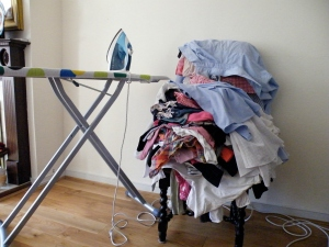 Pile-of-ironing
