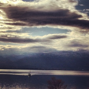 Monday morning in Kelowna.